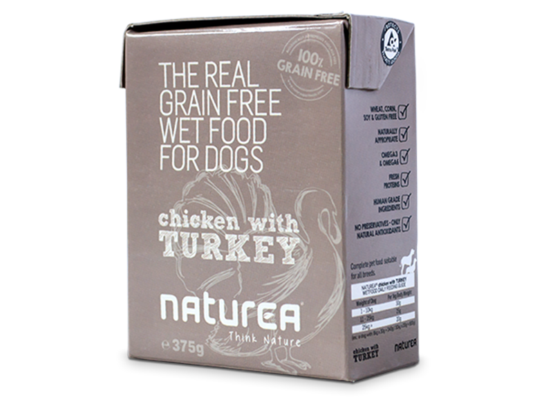 Naturea Chicken&Turkey - rent kød i Tetrapak