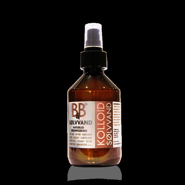 B&B Sølvvand – 100% naturlig behandling