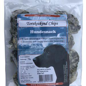 Torskeskind Chips SUNDE GODBIDDER
