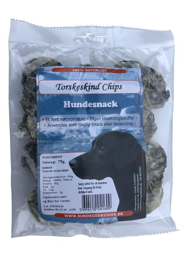 Torskeskind-Chips-pose SUNDE GODBIDDER