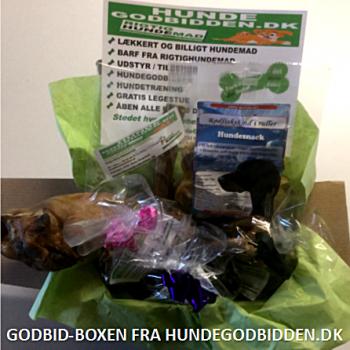 Godbid-Boxen |Forkæl din hund en gang månedlig
