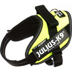 Julius K9 IDC-sele, UV neon grøn