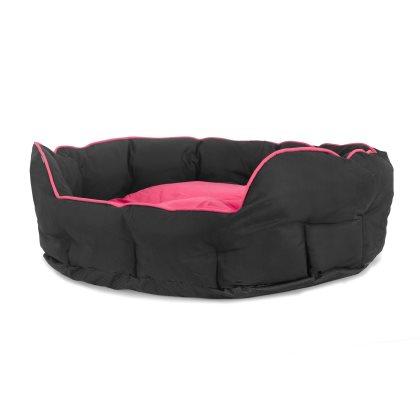 Buddy oval seng - Pink i 3 størrelser