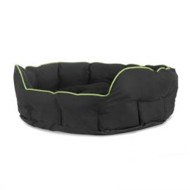 Buddy oval seng – 60x50x22cm, Medium Grøn
