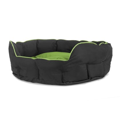 Buddy oval seng – Grøn i 3 størrelser