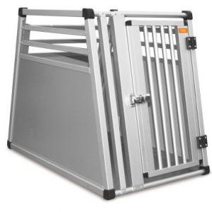Transportbur, Aluminiumsbur 77,5x50x65cm | Passer til en 20-25 kg hund