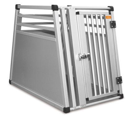Transportbur, Aluminiumsbur 77,5x50x65cm   Passer til en 20-25 kg hund