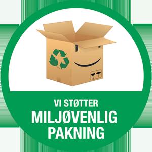Miljøvenlig pakning hos HundeGodbidden.dk