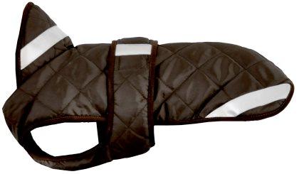 Quiltet brun Hundedækken