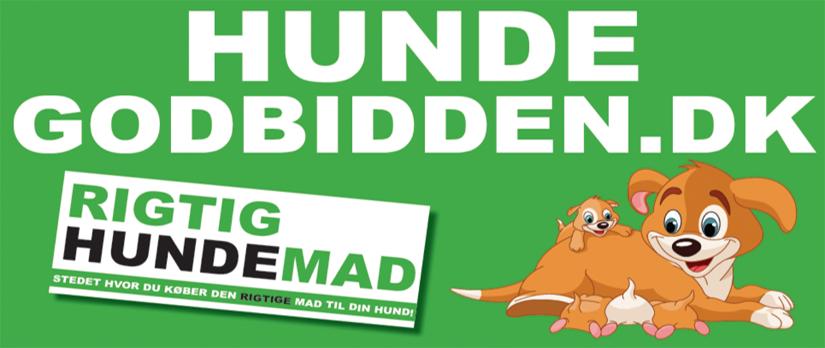 HundeGodbidden I Førende Barf, Rigtig Hundemad og 100% Naturlig Godbid forhandler ! Logo