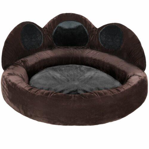 Hundesengen Balou i sort/brun Ø 80 x 33 cm