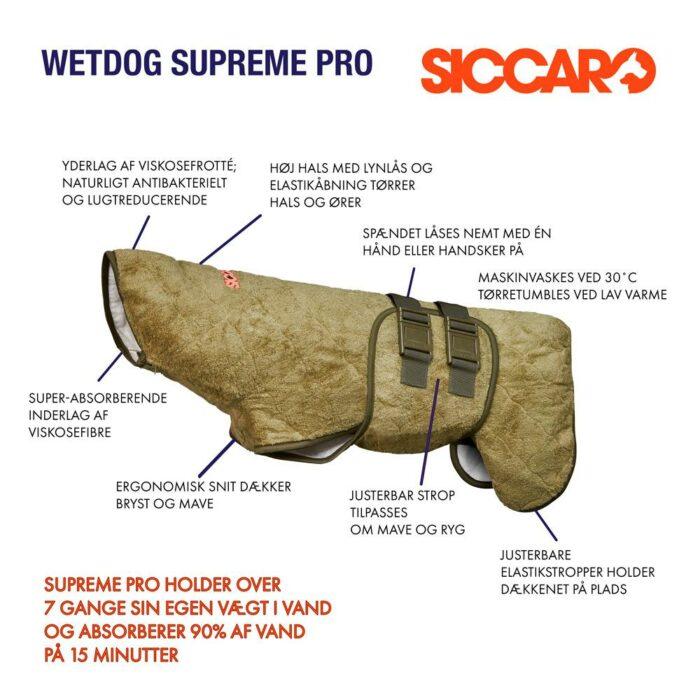 Siccaro SupremePro, bamboo Tørredækken